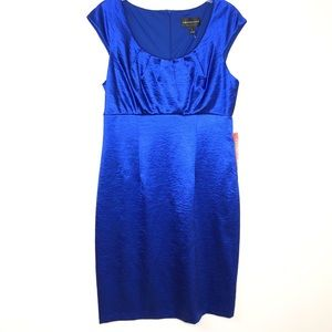 NWOT Connected Blue dress